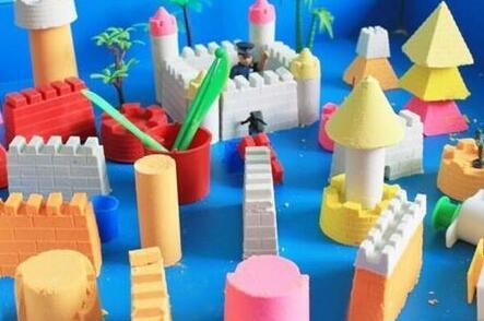 新玩具太空沙 BB这样玩最省心