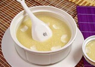 豆浆冰糖米粥
