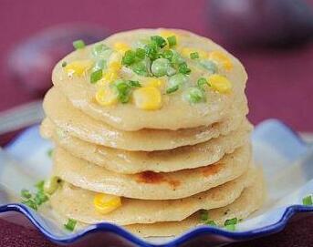 儿童营养食谱:玉米煎饼