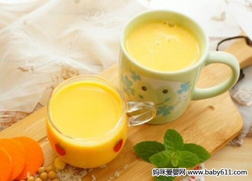 胡萝卜米豆浆
