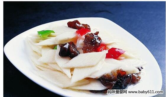玉竹炒藕片