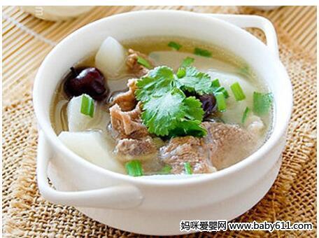 滋补清润羊肉萝卜汤