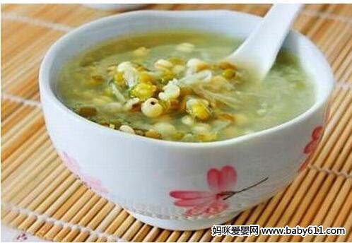 清热解毒绿豆冬瓜汤