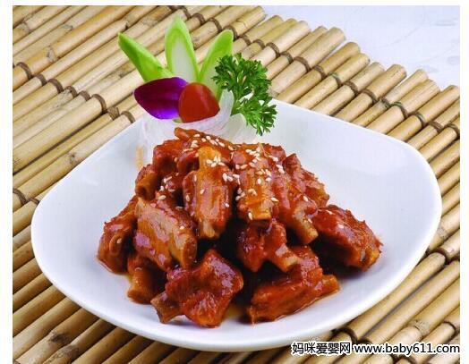 猪肚可以期间食谱:糖醋孕妇石斛煲汤和排骨怀孕吗图片
