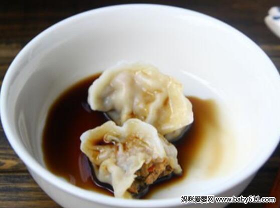 鱼香肉末饺