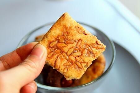 南瓜子咸味酥饼