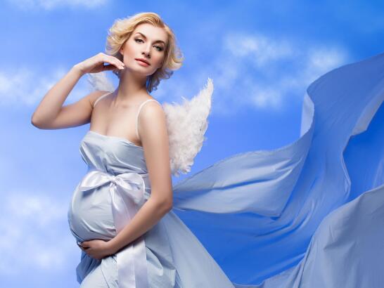 孕妇照片创意