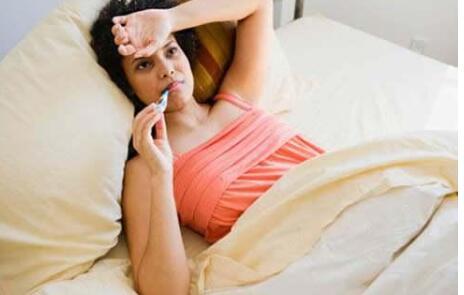 yun妇感冒发烧需注意这四点