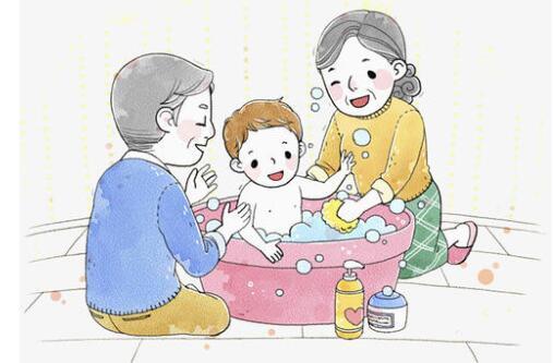 六种情况下不宜给宝宝洗澡