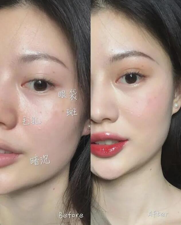 6个底妆技巧,妆容干净又持久,与粉底液无关!